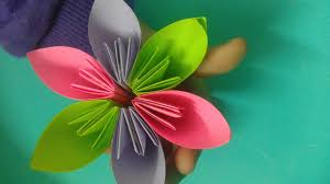 origami flower for kids origami decoration tutorial youtube