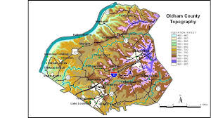 map of oldham groundwater resources of oldham county kentucky