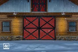Red Barn Door by Sandy Horse Barn Project Dc Builders