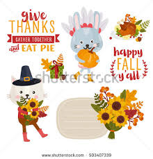 thanksgiving cat stock images royalty free images vectors