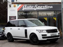 used range rover for sale used 2016 land rover range rover 3 0td vogue black pack 21