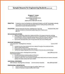 4 undergrad resume template resume cover note