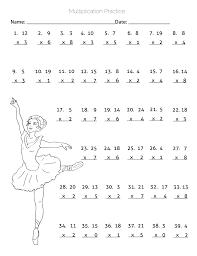 Multiplication Drill Worksheets Math Multiplication Drill Sheets 3rd Grade Math Worksheets