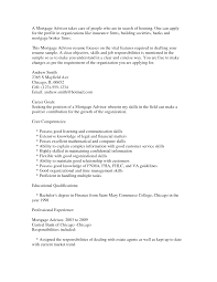 Resume Template For Real Estate Agents Mortgage Broker Resume Free Resume Example And Writing Download