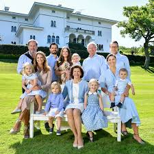 Family Portrait The Swedish Royal Family Achieves Insta Perfection With Their