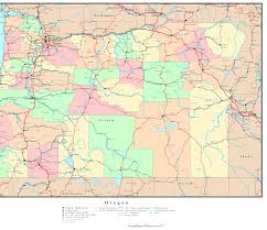 Oregon Map Us by Oregon Map Online Maps Of Oregon State