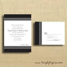 classic wedding invitations black and white classic wedding invitations simply paperie