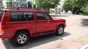 1997 jeep cherokee 4 0 2 door 4x2 sport youtube