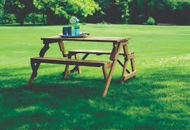 products partly assembled interchangeable picnic table garden bench
