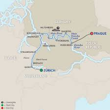 Strasbourg France Map Christmas River Cruises Avalon Waterways