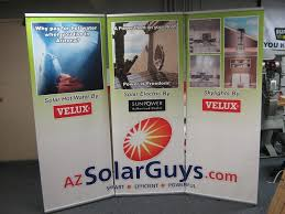table top banners for trade shows 2 5 x 2 5 tabletop hopup tension fabric display stand