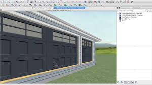 designing adam lz u0027s garage video 2 using home designer software