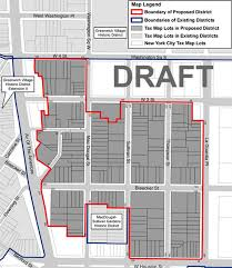 New York City Tax Map by South Village Landmark Proposal U2014 What U0027s Out