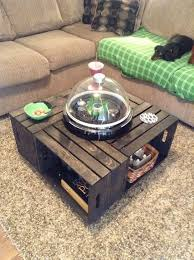 How To Make Wine Crate Coffee Table - 61 best wine crates images on pinterest wine crates wine boxes