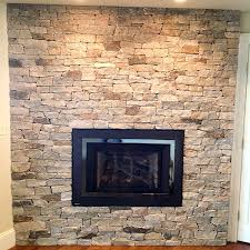 Stone On Walls Interior Fireplace Stone Thin Natural Veneer By Stoneyard