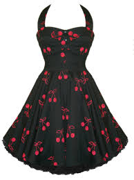 black red cherry vintage prom dress vintage 1950 u0027s dresses