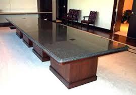 Rectangular Boardroom Table Fancy Granite Conference Table Granite Custom Conference Room