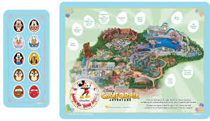 Disney Downtown Map Disney U0027s California Adventure Park Easter Egg Hunt U2013 Be Inspired