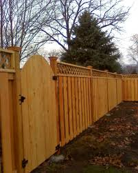 flat top cedar fence gallery phillips fencing