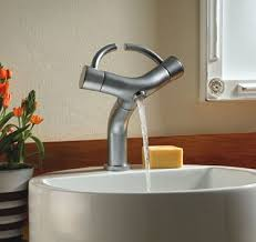 cool faucets by hamat funky bathroom taps with u0027wings u0027