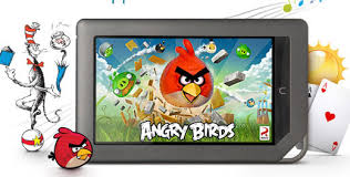 angry birds nook color free mighty eagle play