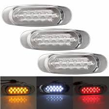 go lights for trucks 12v waterproof 16 led beads car trailer truck edge side marker