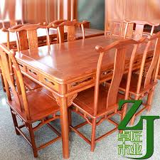 All Wood Kitchen Table by Pear Wood Classical Mahogany Table Solid Wood Dining Table Six