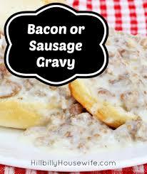 bacon gravy hillbilly housewife