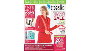 friday 2016 begins earlier at belk on thanksgiving day