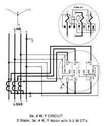 3 phase meter base wiring diagram efcaviation com