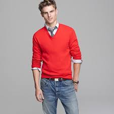 v neck sweater s v neck sweater a button collared shirt and tie