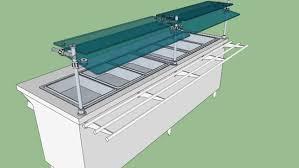 steam table with sneeze guard orbit 900 sneezeguard on steam table thurmaduke 3d warehouse