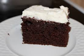 one piece of cake at a time chocolate cake with really good