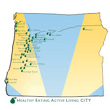 Sweet Home Oregon Map by Heal Cities Helping Civic Leaders Create Healthy Communities