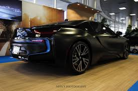 Bmw I8 Blacked Out - frozen black 2016 bmw i8 is a real eye catcher automotorblog