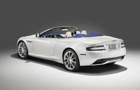 aston martin db9 gt reviews aston martin produces one off db9 volante morning frost