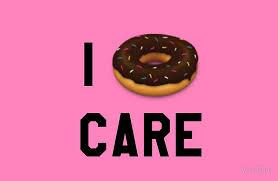Funny Donut Meme - i donut care funny trendy girly hipster emoji meme studio