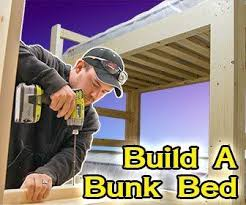 free plans learn how to build a full size loft bed wood
