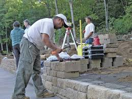 block retaining walls professional deck builder landscaping