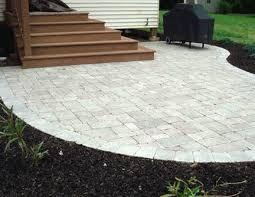 Brick Paver Patio Cost Design Cost Of Brick Pavers Alluring Brick Paver Patio Cost