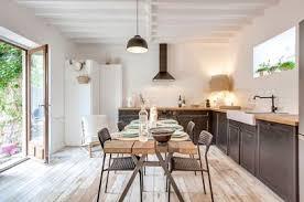 cuisine de famille ère moderne yvelines 145 m2 rénovés côté maison