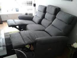 sofa relaxfunktion elektrisch 3er sofa neu mit relax funktion elektrisch mit kaufbeleg