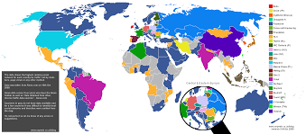 Lithuania World Map by Social Networking In Lithuania World Map Of Social Networks
