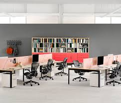 studio layout layout studio desking systems from herman miller architonic