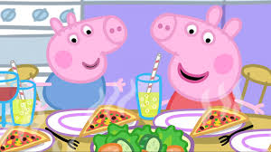 peppa pig lunch season 1 episode 34