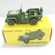 jeep car green dinky toys atlas1 43 antique 24m jeep metal alloy diecast car toys