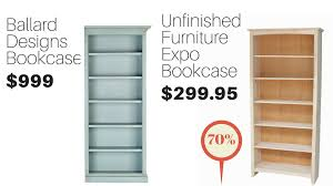 Unfinished Bookshelves by Unfinished Furniture Expo 1 Source Of Discount Unfinished Furniture