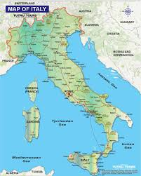France And Italy Map by Tutku Tours Italy Tours