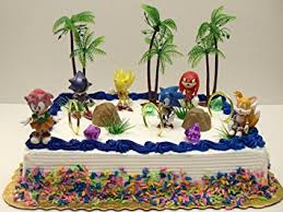 unique 12 classic sonic the hedgehog cake topper