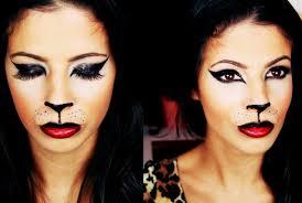 simple cat face makeup easy cat makeup tutorial halloween makeup